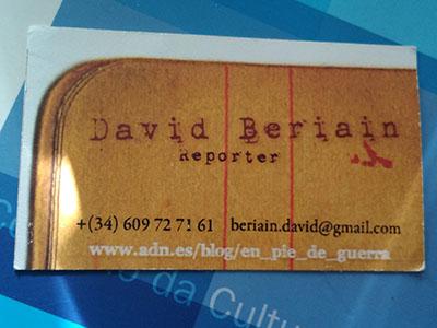 David Beirain
