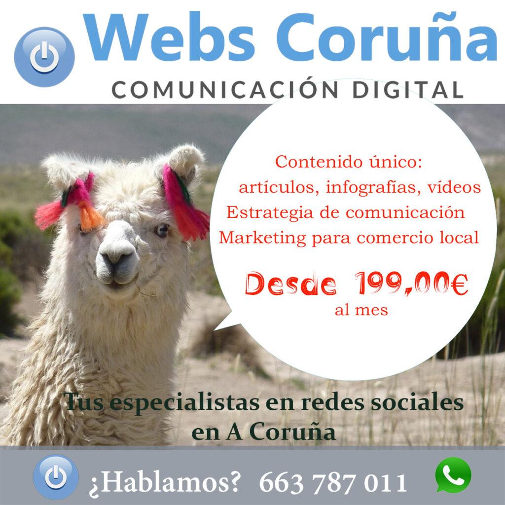 Oferta redes sociales